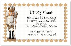 Nutcracker Holiday Party Invitations