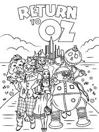 Small Picture Wizard of Oz coloring pages Download and print Wizard of Oz