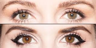 Eyeliner Chart Eyeliner For Eye Shapes Chart Get The Perfect Eyeliner For
