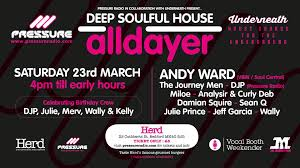 Pressure Radio Soulful House Chart 23 March 2019 Underneath Pressure Radio Soulful House Alldayer Pressure Radio