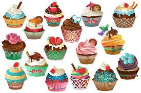 Delicious Cupcakes American Muffins Clip Art Portable Network