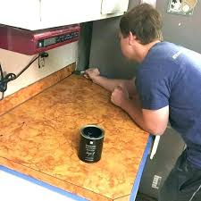concrete laminate countertops how to install laminate laminate medium size of makeover recycled glass concrete s