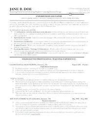 Resume Samples For Professionals Professional Samples Resume Samples ...