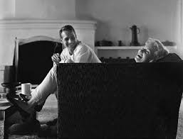 Sid Avery - Paul Newman and Joanne Woodward at their Beverly Hills Home