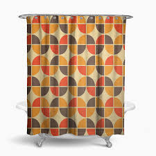 retro shower curtain. Retro Shower Curtains Inspirational Curtain 70s Cool