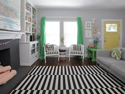 black and white striped rug ikea