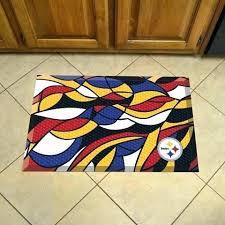 steeler area rugs pittsburgh steelers bath rug equityvest club