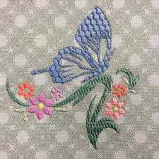 Gothic Machine Embroidery Designs Embroidery Machine Butterfly Flower Embroidery Butterfly