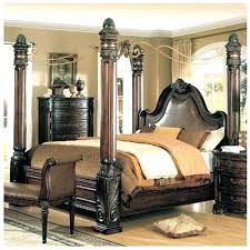 4 Post Wooden Bed Frame Four Post Canopy Bed Frame The Thin Light ...