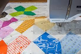 How to Pin Baste a Quilt | WeAllSew & Basting Tutorial - Step 16 Adamdwight.com