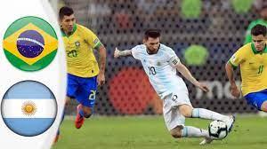 مباراة البرازيل والارجنتين في كوبا أمريكا 🏆 - YouTube