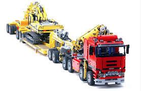 Lego Technic 8258 Trailer Lego Lego Technic Lego Lego Truck