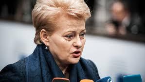 Как Грибаускайте самого Маккейна превзошла Президент Литвы  С такой биографией в современной Литве карьеру вроде бы не сделаешь Но Даля Грибаускайте с таким послужным списком смогла стать президентом страны и