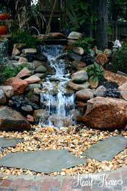 how to build a backyard waterfall ideas large size of waterfalls kits small outdoor water