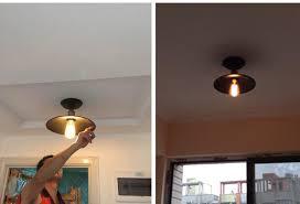 loft edison vintage ceiling lamp fixture retro kitchen ceiling lights simple hallway light metal lamp shades