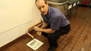 Kitchen Floor Drains Guardian Drain Lock Demonstration Protect Your Drains Youtube