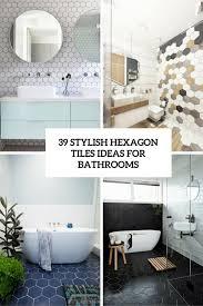 bathroom floor tile hexagon. Hexagon Tiles Bathroom Floor Tile