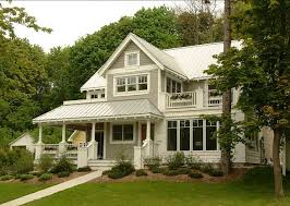 Perfect Exterior Paint Color Benjamin Moore Revere Pewter HC 172. Trim Color Is  Benjamin Moore Linen White 912.