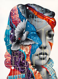 Mixed Media Design New Mixed Media Artworks By Tristan Eaton Collage Artwork