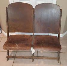 folding cinema chairs uk. folding wood vintage pair of theater seats cinema chairs uk