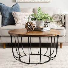 brown quintana paris coffee table