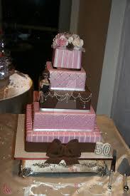 My Mums 50th Birthday Cake By Mudpiecakes On Deviantart