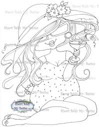 Small Picture 228 best Big Head Girl Coloring Pages images on Pinterest