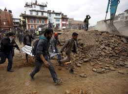 The authenticity of the video became a subject of online. Gifs Show Nepal S Slow Recovery One Year After Earthquakes Huffpost