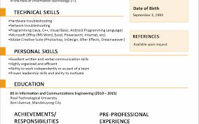 Generous Resume Format Wordpad Gallery Example Resume Ideas