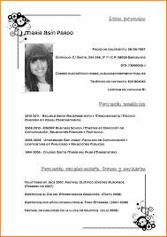 Generous Modelo De Curriculum Vitae Filetype Doc Ideas Example