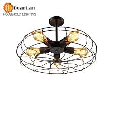 used pendant lighting. vintage edison fan droplight pendant lamps for bedroomliving room decor5 bulbs are used lighting