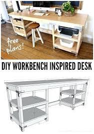 computer desk blueprints free orkbench corner computer desk plans free
