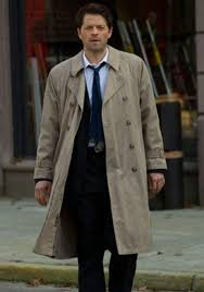 what is castiel without his trusty trenchcoat they re two peices of a puzzle that can t be separated