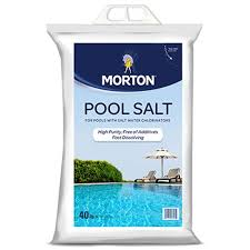 Amazon.com : MORTON SALT 3460 Pool Salt, 40 lb : Swimming Pool And ...