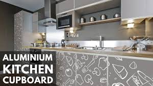 Design Of Kitchen Cupboard Aluminum Kitchen Cupboard Design Ideas And Photos 2017 Youtube
