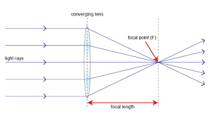 bbc   gcse bitesize  converging lensesdiagram of how a lens works