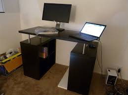 Innovation Furniture Counter Idea Black Wood Office Rectangle Back Wooden And Design Decorating