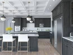 modern dark grey kitchen cabinets