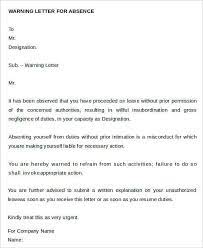 26 warning letter exle template