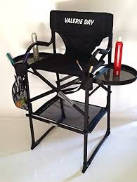 amazon tuscanypro makeup hair chair your name printed on this chair 29 seat height kitchen dining