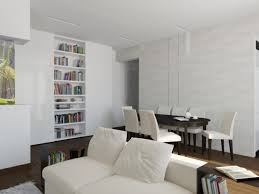 Apartment Dining Room Ideas Home Decor Studio Cool White Living Interior  Design For Small Apartments With