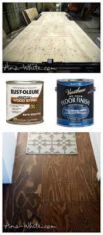 diy stained plywood flooring use your suloor as flooring tiny house build save money time weight and add e