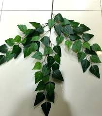 whole fake leaf shaped plant outdoor handmade artificial banyan leaves ficus tree for home decoration