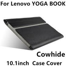 case cowhide for lenovo yoga book sleeve protective smart cover genuine leather tablet for yoga book 10 1inch pu protector pouch