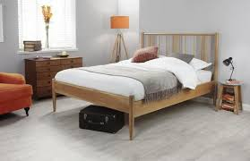 Cadot Luxury Hamilton Oak Spindle Bed Frame