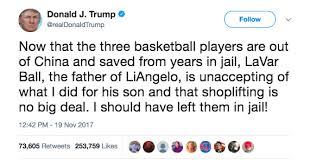 Lavar Ball Quotes Extraordinary Trump's War With LaVar Ball Basketball's Most Famous Stage Dad