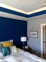 Two Color Bedroom Walls .