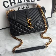 College Designer Bags Ysl Woman Slp College Chain Bag Bags Purses Handbags