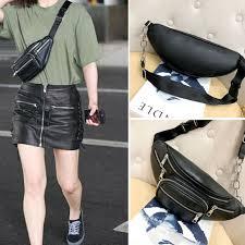 waist packs bags large leather pack mens waist belt bag womens purse hip pouch
