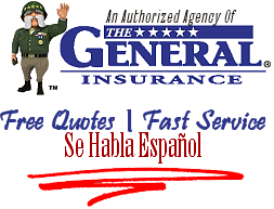The General Auto Insurance Quote